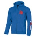 FELPA U-POWER SQUARE FUL ZIP COLORE BLUE NEON SIZE: 2/XL